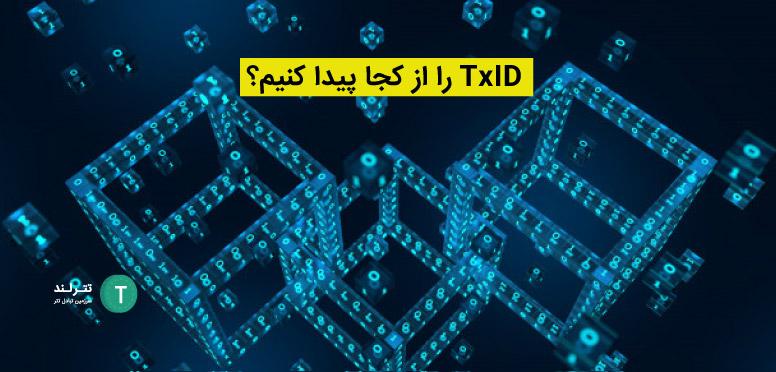 TxID را از کجا پیدا کنیم؟